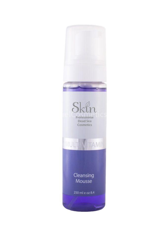Мальтивитаминный очищающий мусс Skin